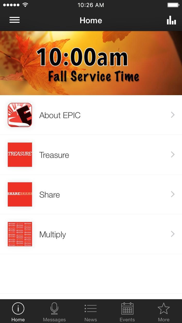 App - EPIC Community Church