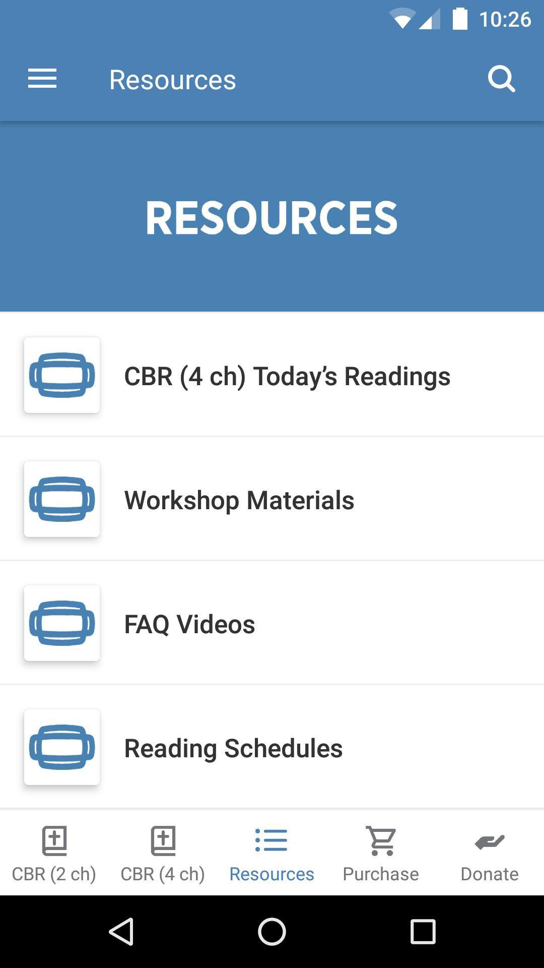 App - Community Bible Reading