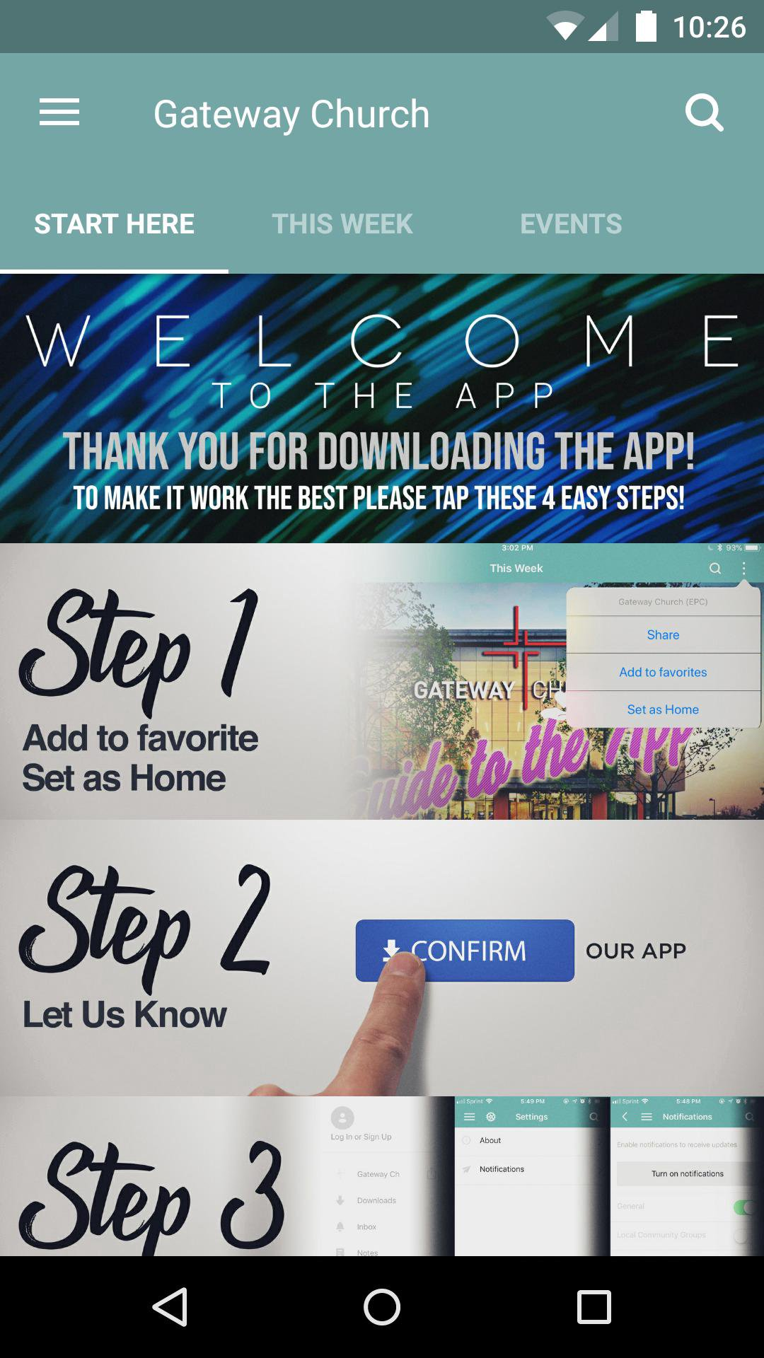App - Gateway-the Rock, Grove City, and Beyond
