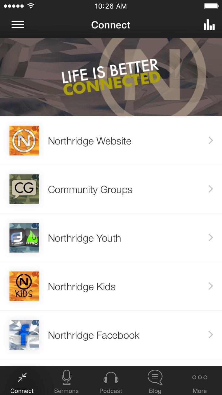 App - Northridge Church App