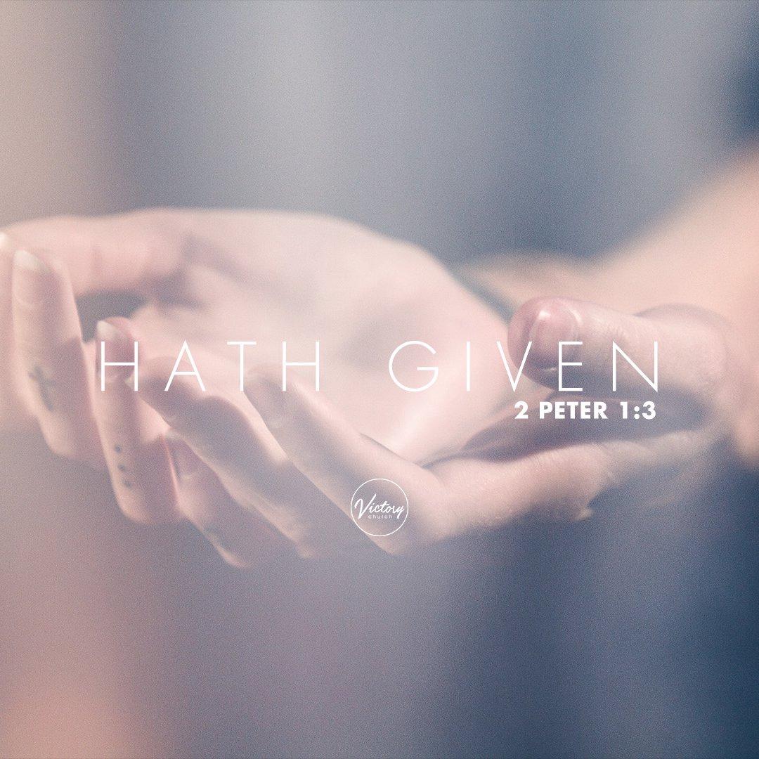 Hath Given - Pt. 4