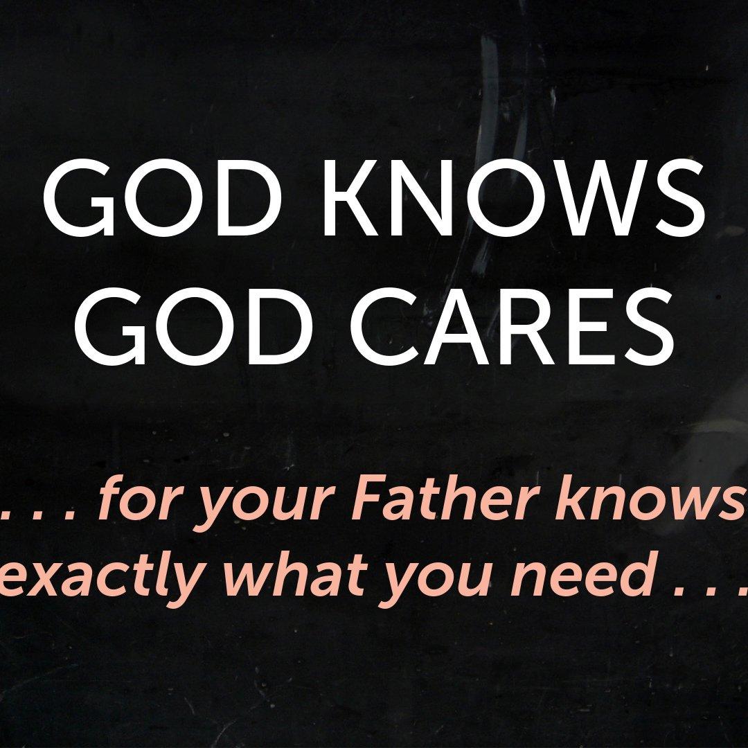 035 God Knows God Cares