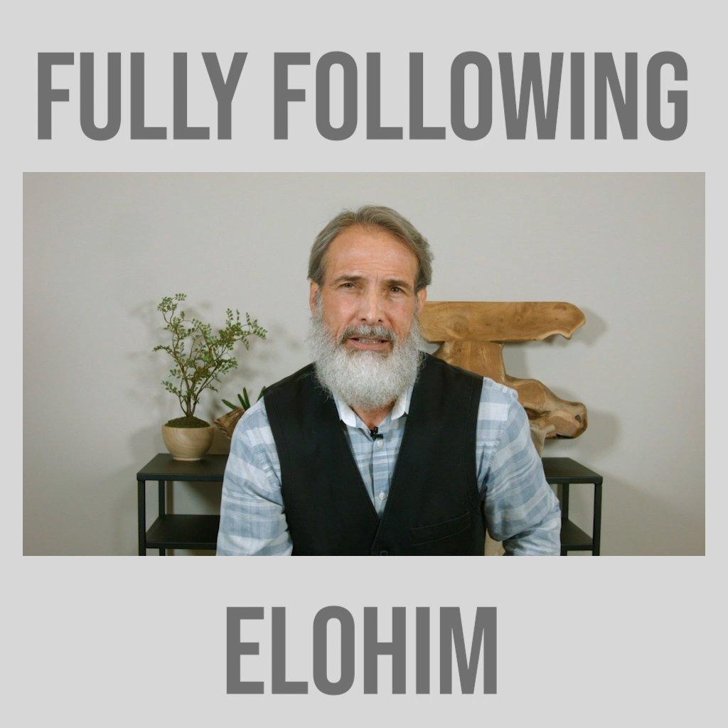Having A Different Spirit To Fully Follow Elohim