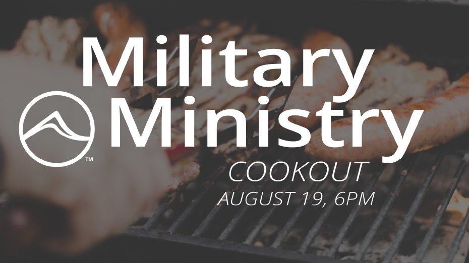 Military Ministry BBQ