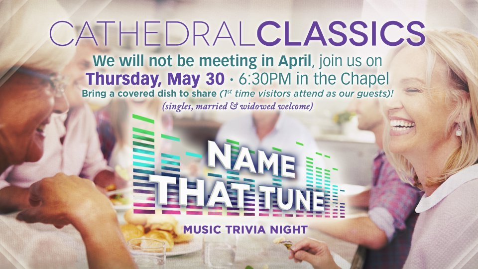 Cathedral Classcis - May 30