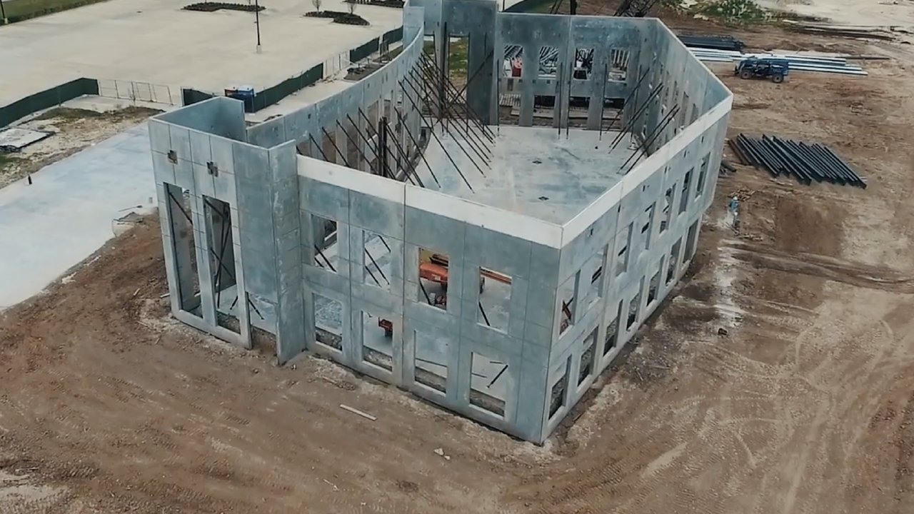Construction Flyover 3 - Humble Campus — Grace One