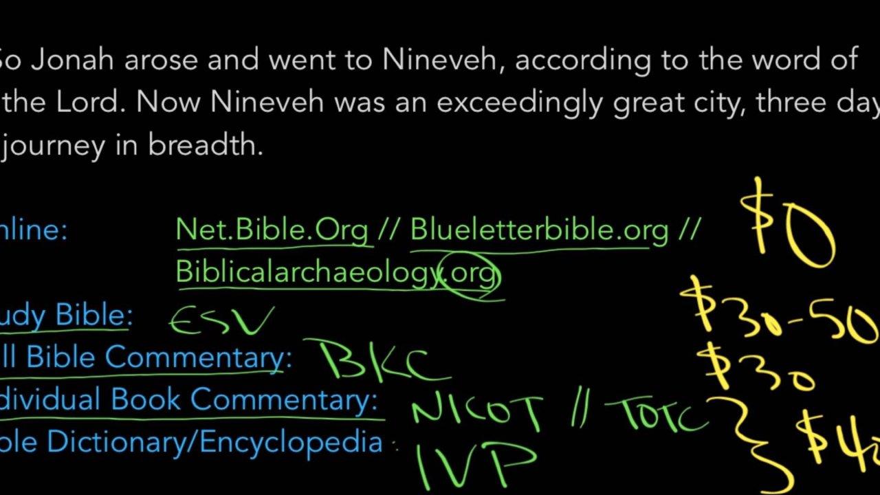 Jonah 3:3 - Breakaway Ministries