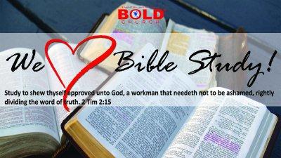 Bible Study - BOLD Church®