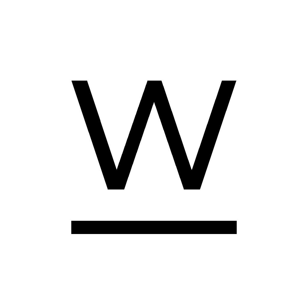 The W Church Logo