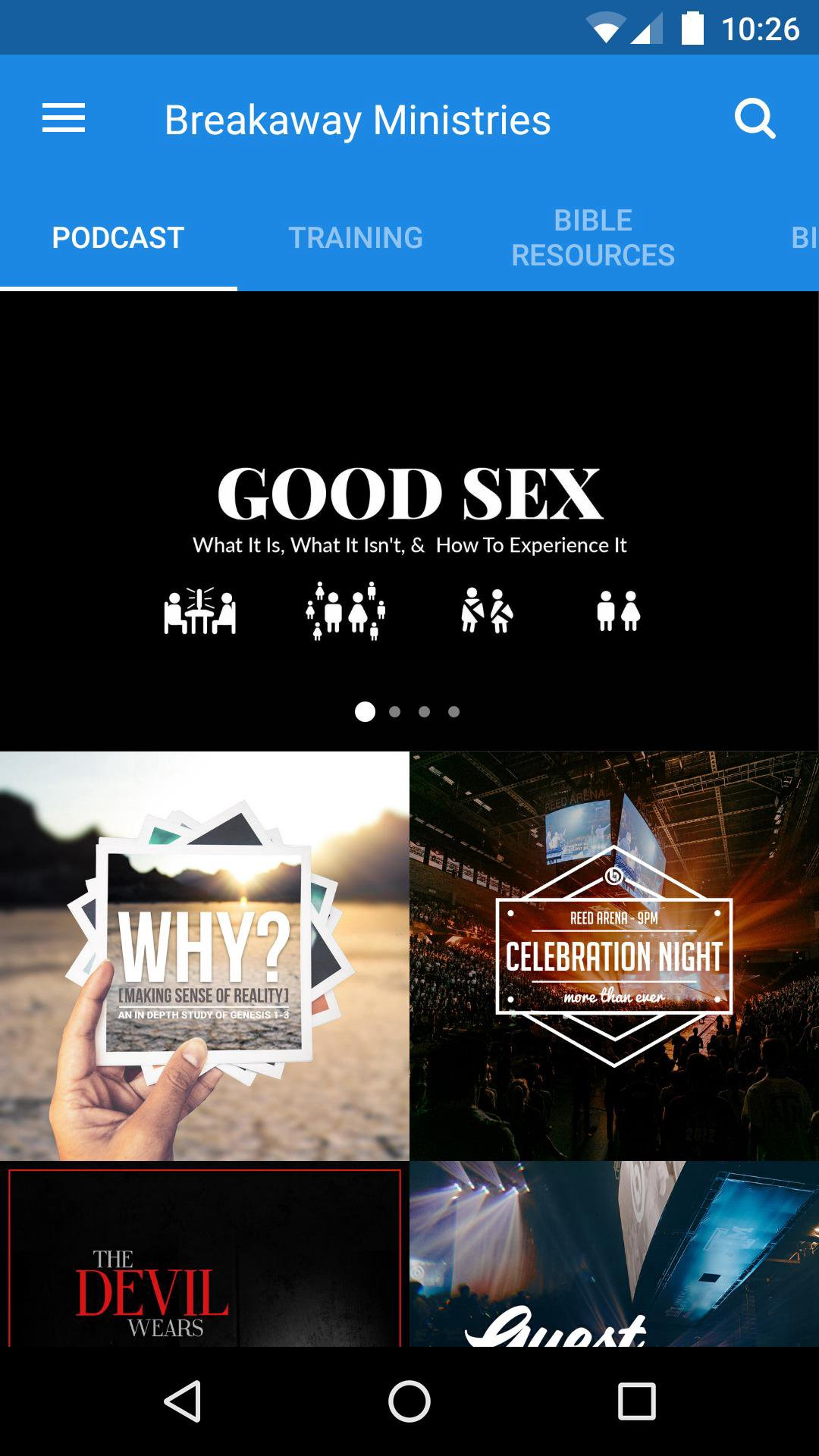App - Breakaway Ministries