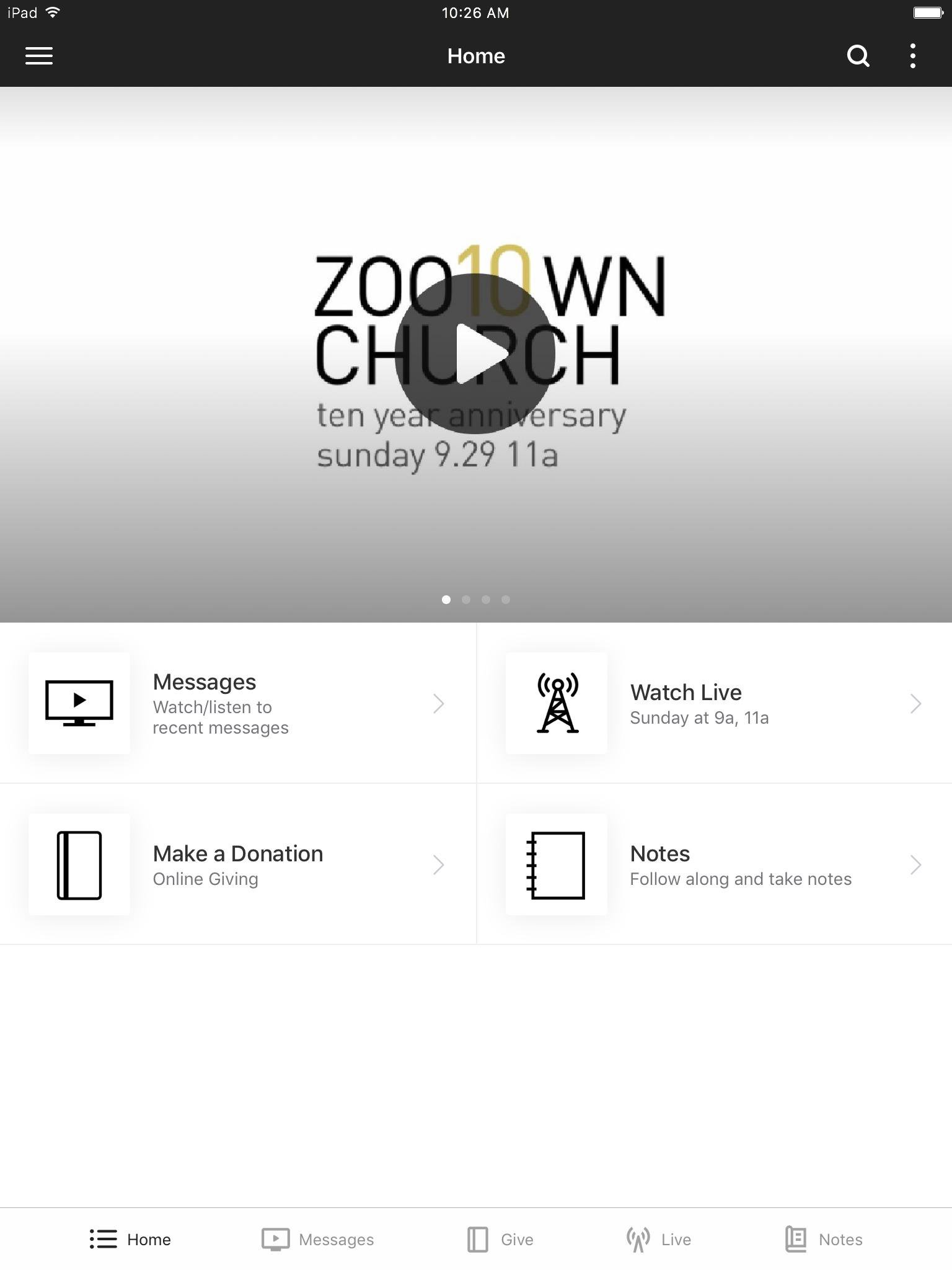 Download App — Missoula Church - Zootown Church