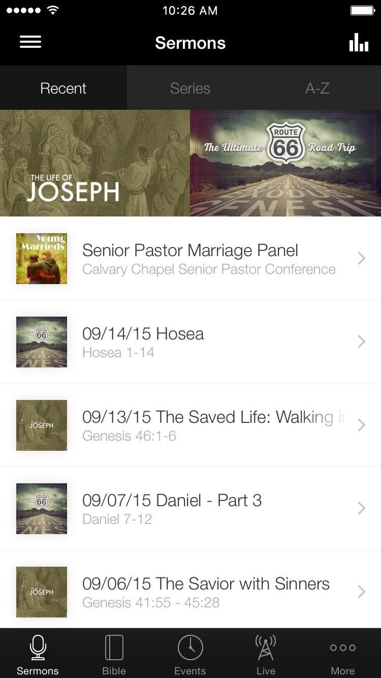 App - Metro Calvary Sermons