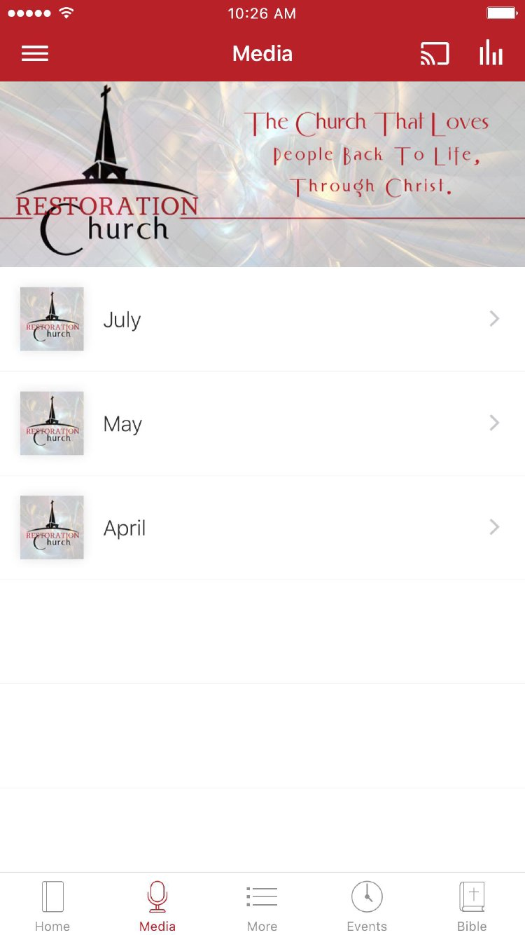 App - Restoration Church of Jesus Christ