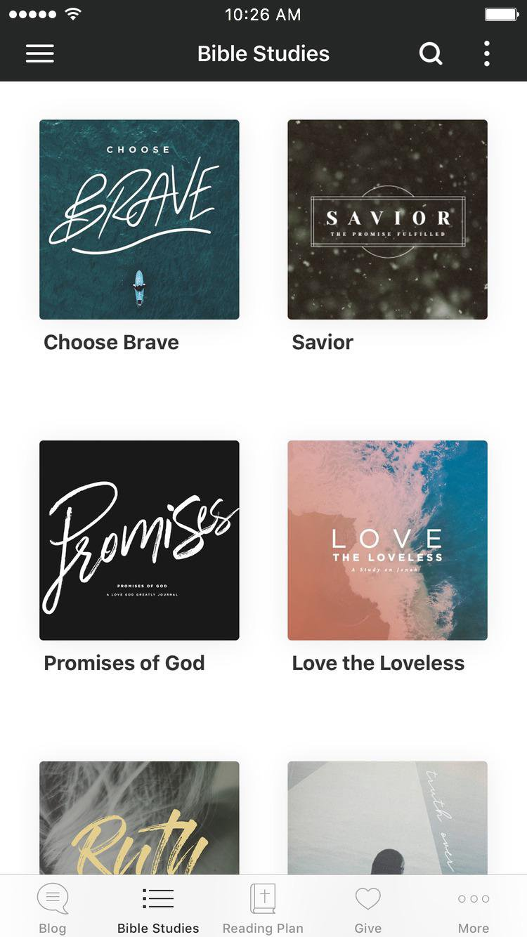 App - Love God Greatly