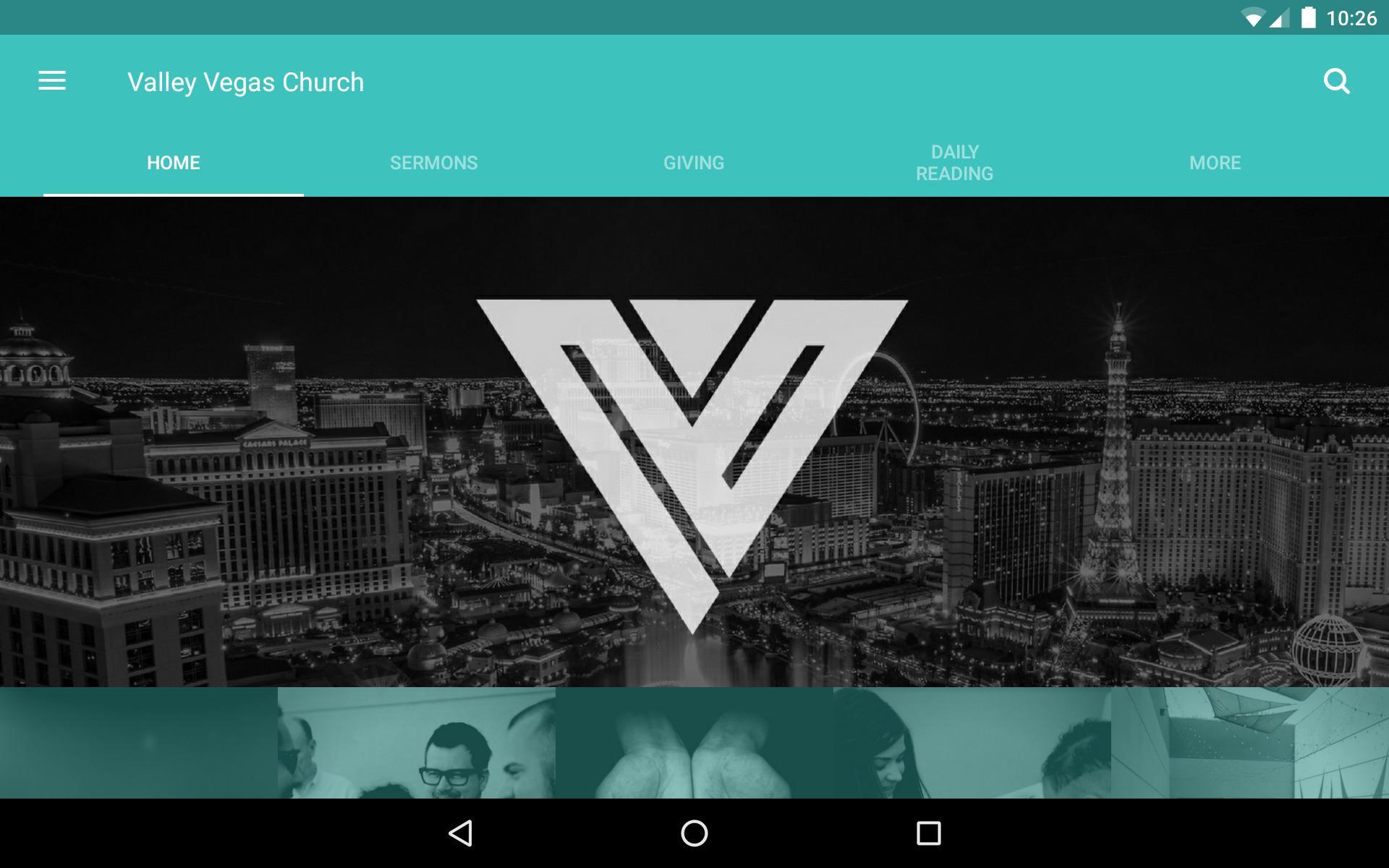 App - Valley Vegas Church