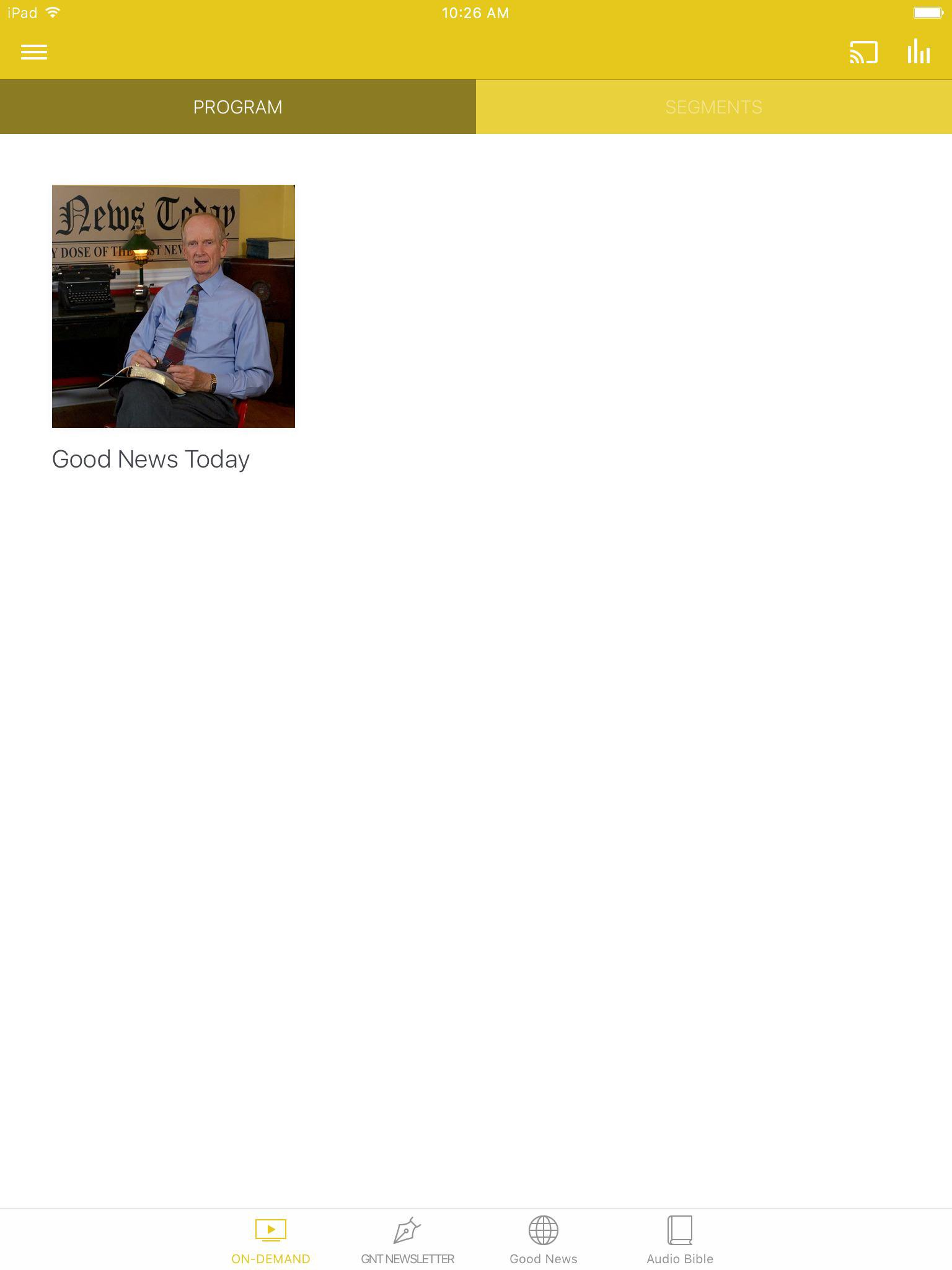 App - Good News Today