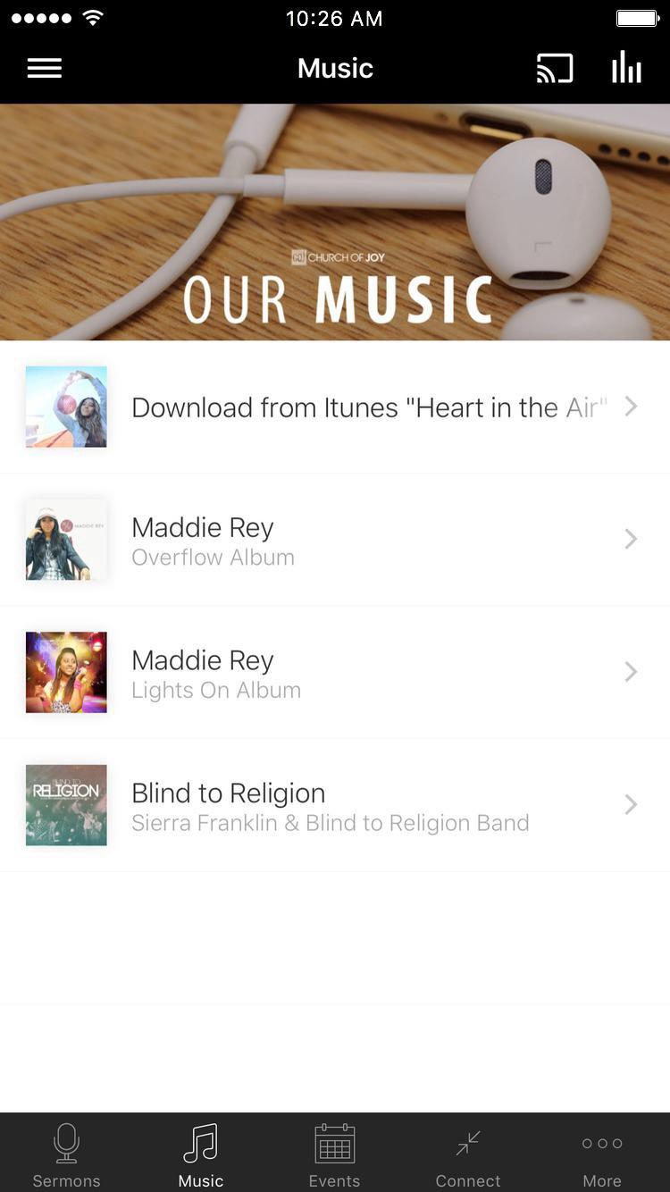 App - Church of Joy