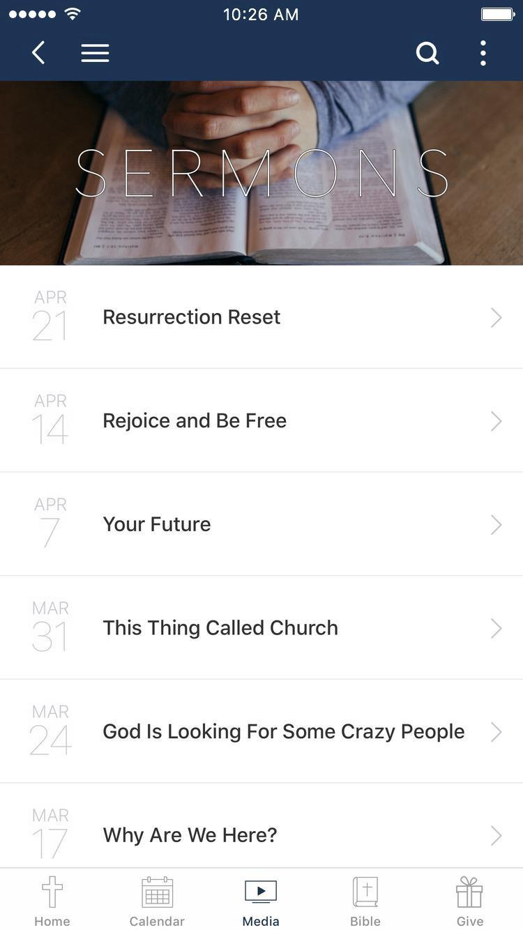 App - Rhema Christian Center