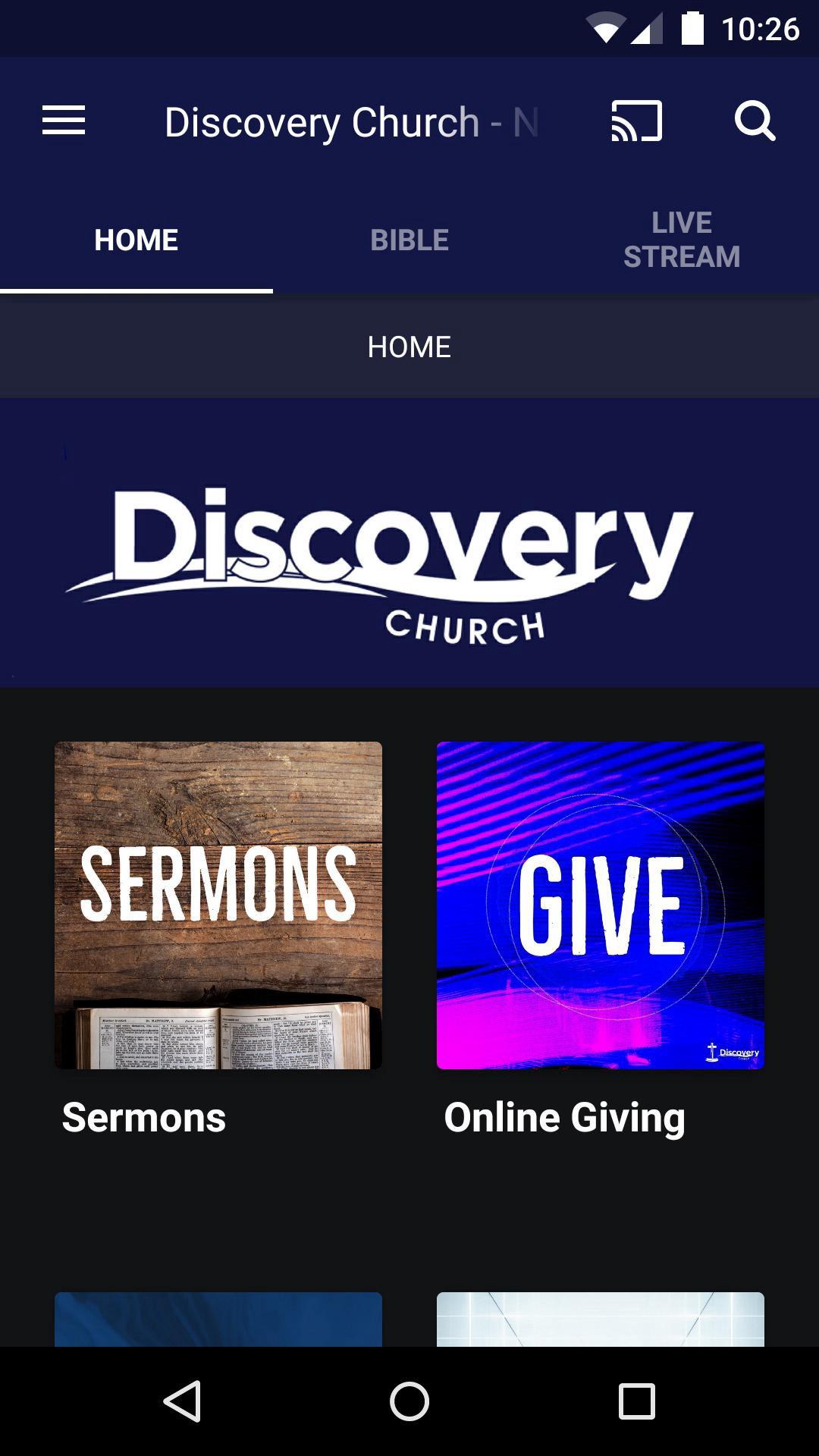 App - Discovery Church - NC