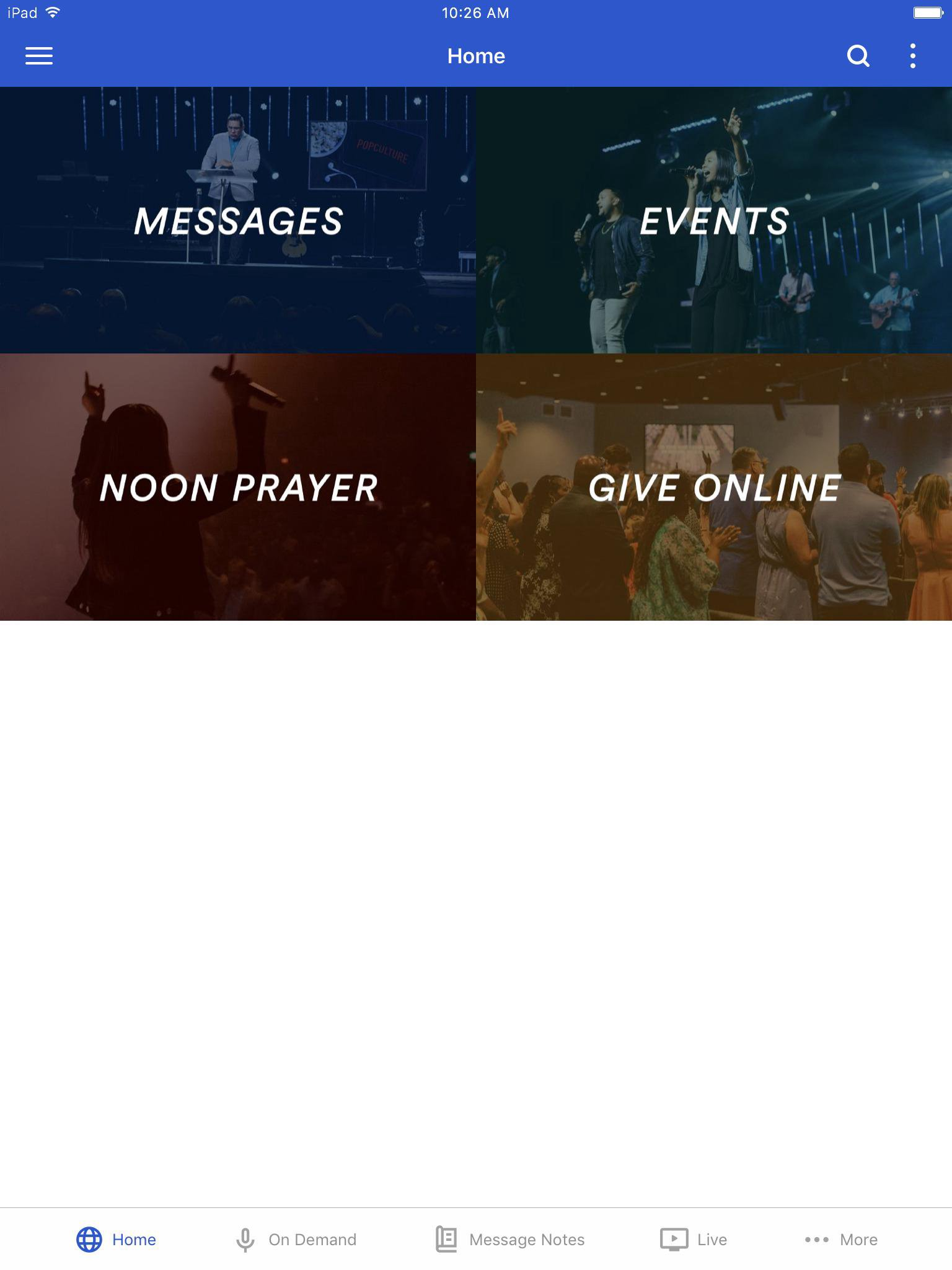 App - Crossing Church   Greg Dumas